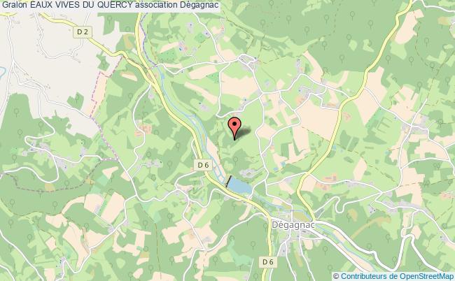 plan association Eaux Vives Du Quercy