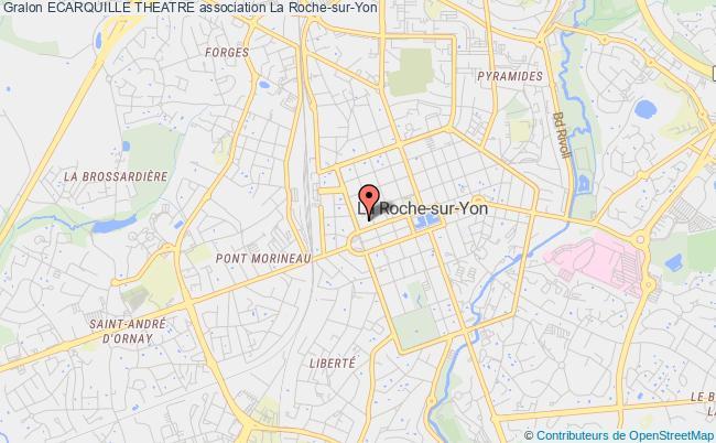 plan association Ecarquille Theatre Roche-sur-Yon