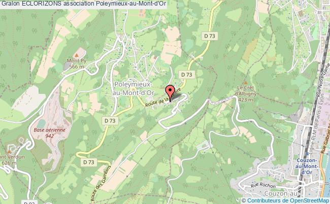 plan association Eclorizons Poleymieux-au-Mont-d'Or