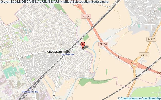 plan association Ecole De Danse Aurelie Martin Mejias Goussainville