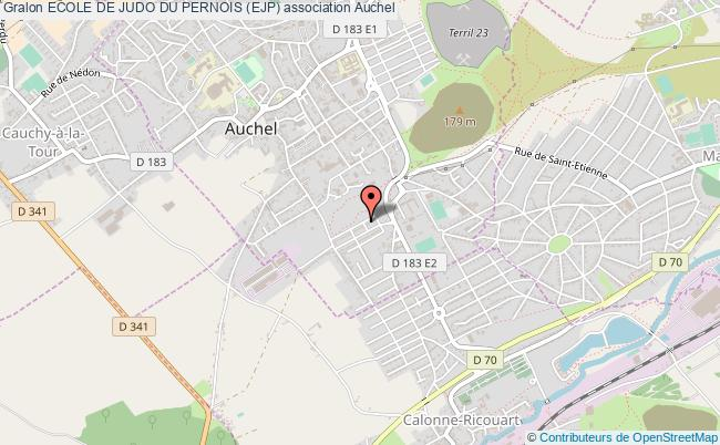 plan association Ecole De Judo Du Pernois (ejp)