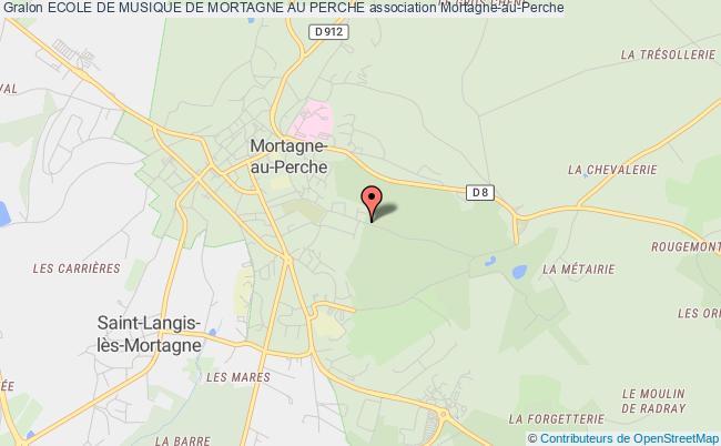 plan association Ecole De Musique De Mortagne Au Perche