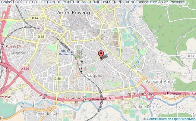 Plan Association Ecole Et Collection De Peinture Moderne Du0027aix En Provence  Aix En