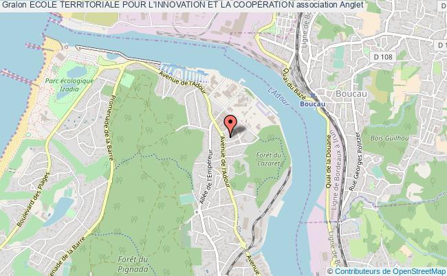 plan association Ecole Territoriale Pour L'innovation Et La CoopÉration