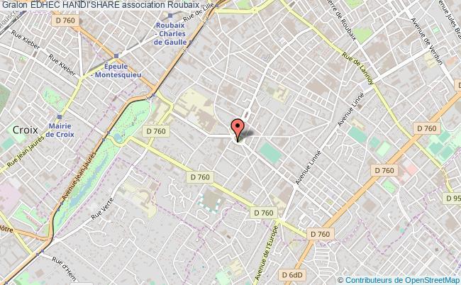 plan association Edhec Handi'share Roubaix