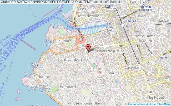 plan association Education Environnement Generations 7eme Marseille
