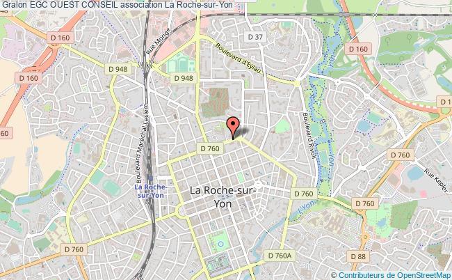 Plan Association Egc Ouest Conseil La Roche Sur Yon
