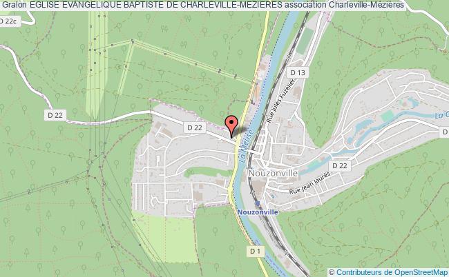 plan association Eglise Evangelique Baptiste De Charleville-mezieres Charleville-Mézières
