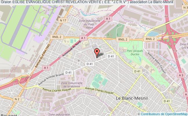 """plan association Eglise Evangelique Christ Revelation Verite ( E.e. """"j.c R.v"""" )"""