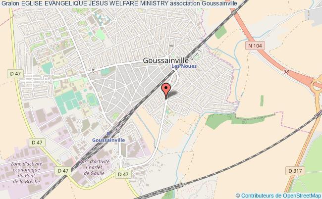 plan association Eglise Evangelique Jesus Welfare Ministry Goussainville