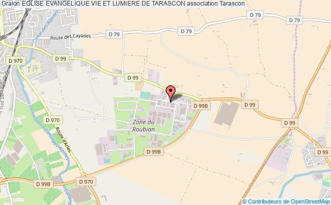 plan association Eglise Evangelique Vie Et Lumiere De Tarascon Tarascon