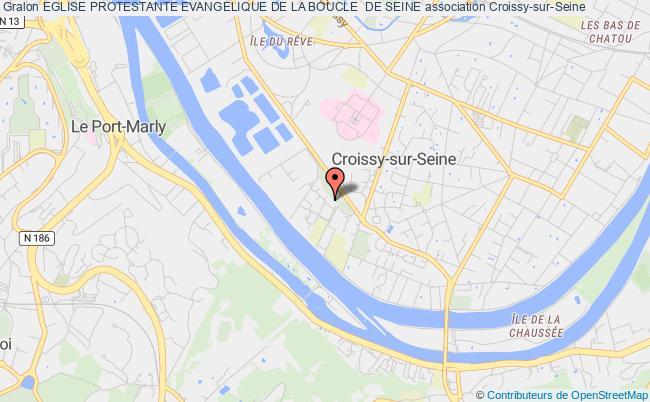 plan association Eglise Protestante Evangelique De La Boucle  De Seine Croissy-sur-Seine