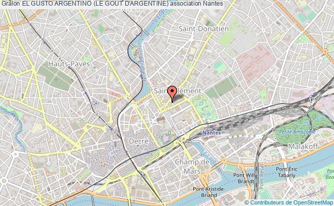plan association El Gusto Argentino (le Gout D'argentine)