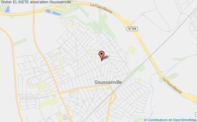 plan association El Siete Goussainville