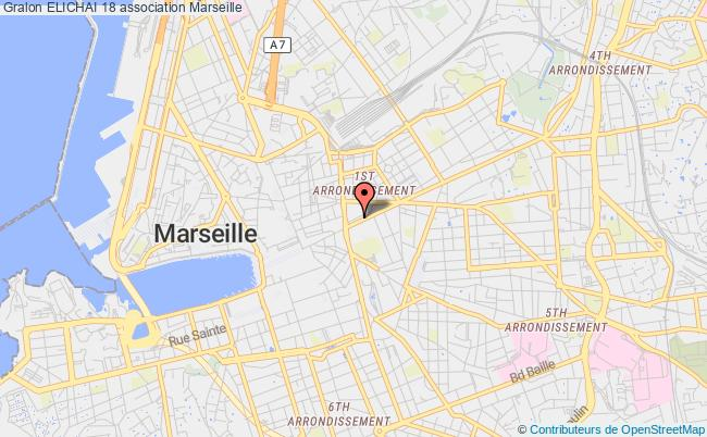 plan association Elichai 18 Marseille