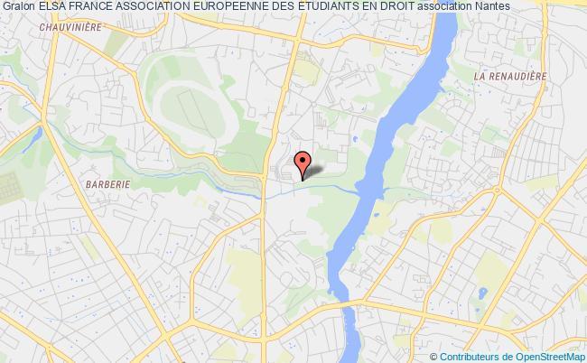 plan association Elsa France Association Europeenne Des Etudiants En Droit