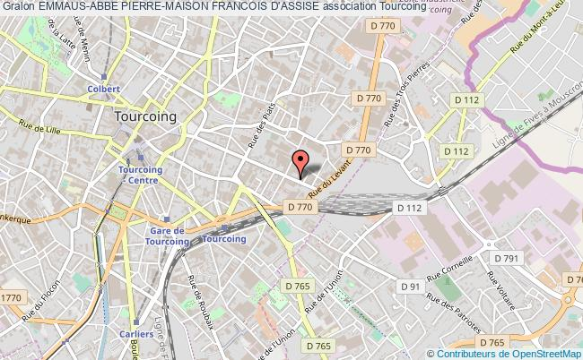 plan association Emmaus-abbe Pierre-maison Francois D'assise
