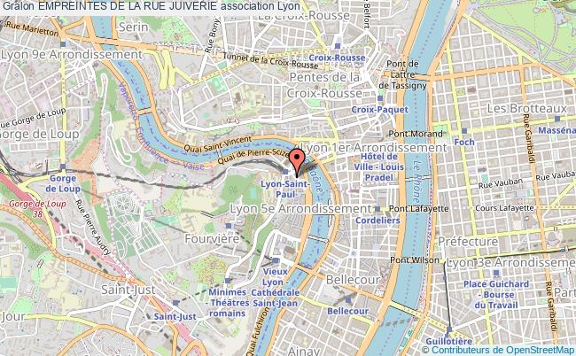 plan association Empreintes De La Rue Juiverie