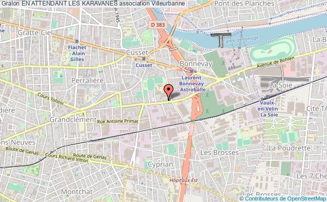 plan association En Attendant Les Karavanes