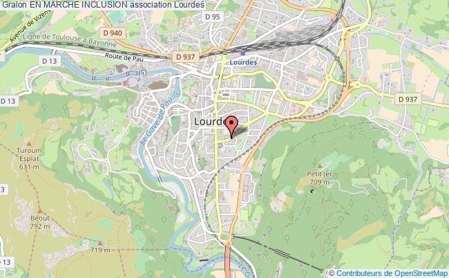 plan association En Marche Inclusion Lourdes