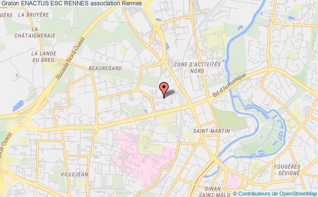 plan association Enactus Esc Rennes