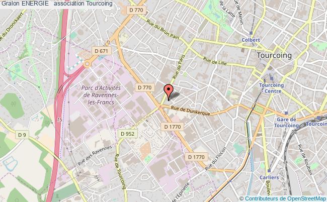 plan association Energie + Tourcoing
