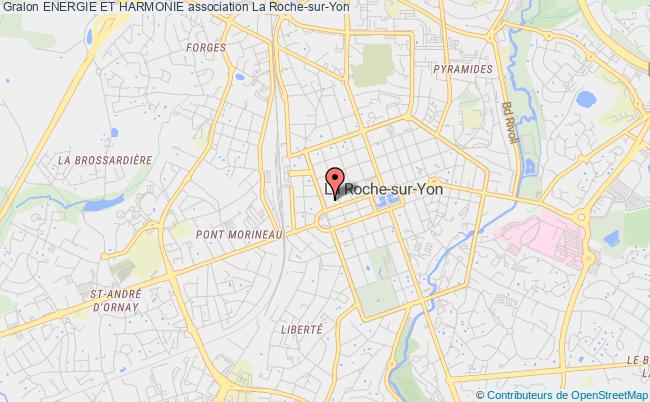 plan association Energie Et Harmonie La Roche-sur-Yon