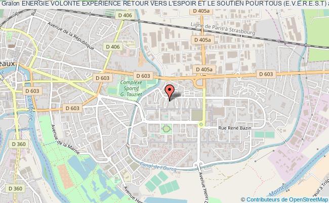 plan association Energie Volonte Experience Retour Vers L'espoir Et Le Soutien Pour Tous (e.v.e.r.e.s.t)