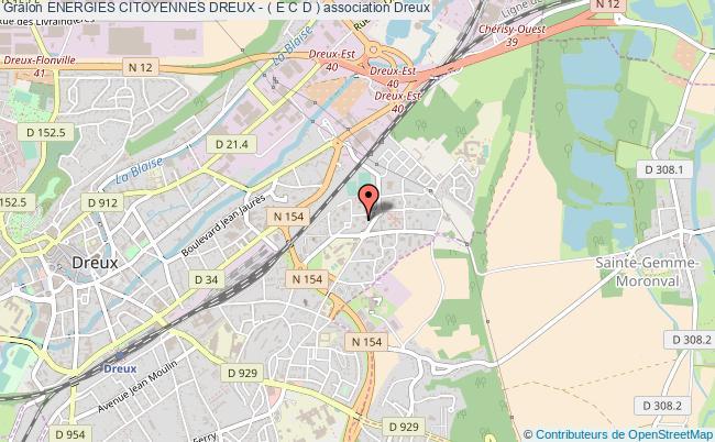 plan association Energies Citoyennes Dreux - ( E C D )