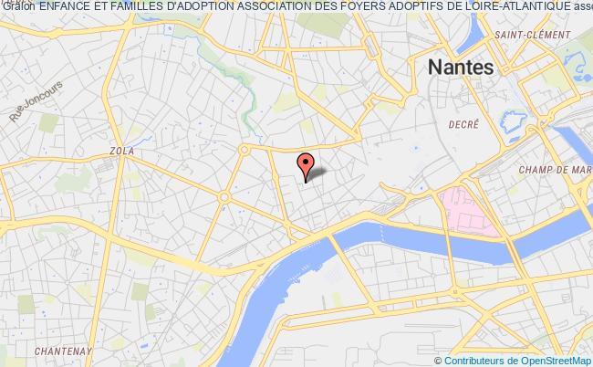 plan association Enfance Et Familles D'adoption Association Des Foyers Adoptifs De Loire-atlantique