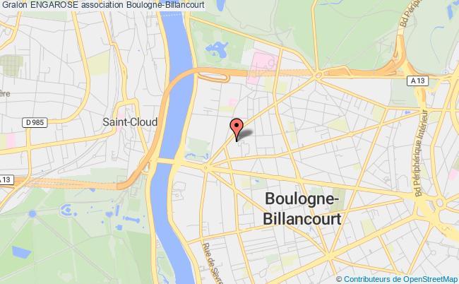 plan association Engarose Boulogne-Billancourt
