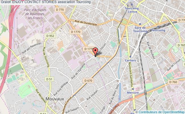 plan association Enjoy Contact Stories Tourcoing