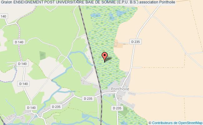 plan association Enseignement Post Universitaire Baie De Somme (e.p.u. B.s.)