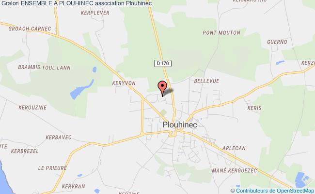 plan association Ensemble A Plouhinec