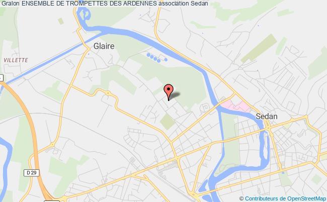 plan association Ensemble De Trompettes Des Ardennes
