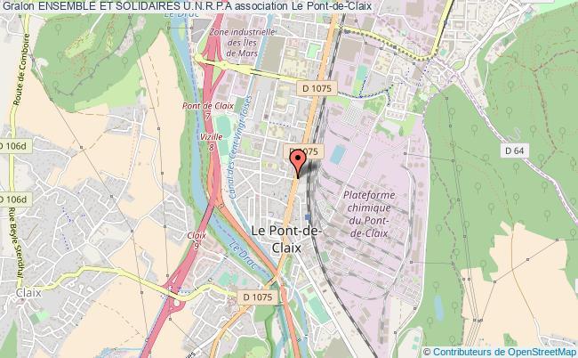 plan association Ensemble Et Solidaires U.n.r.p.a