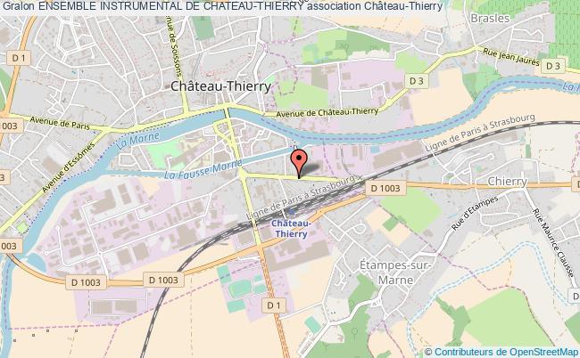 plan association Ensemble Instrumental De Chateau-thierry