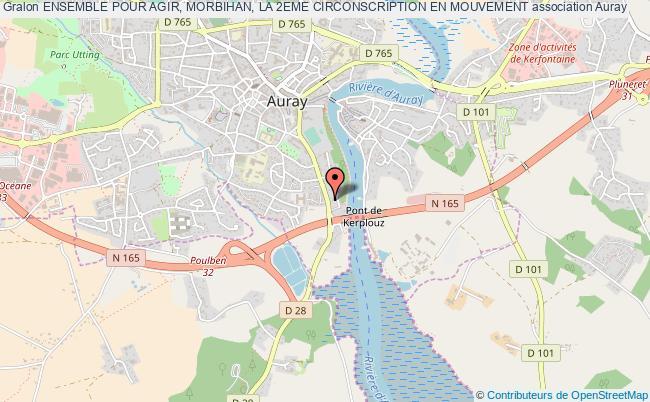 plan association Ensemble Pour Agir, Morbihan, La 2eme Circonscription En Mouvement PLOEMEL