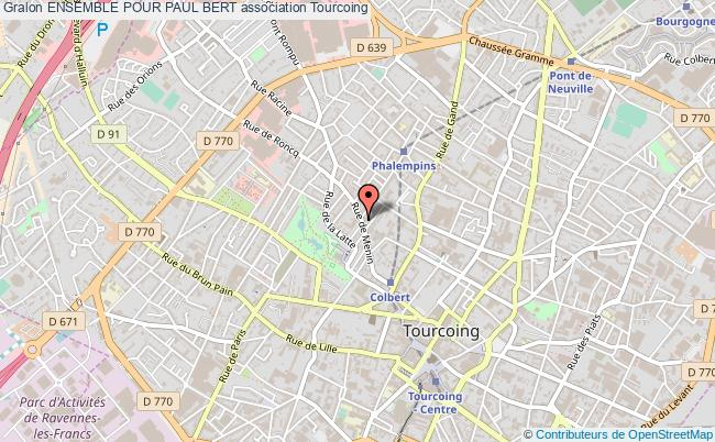 plan association Ensemble Pour Paul Bert