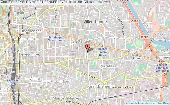 plan association Ensemble Vivre Et Penser (evp)
