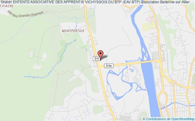 plan association Entente Associative Des Apprentis Vichyssois Du Btp (eav Btp)