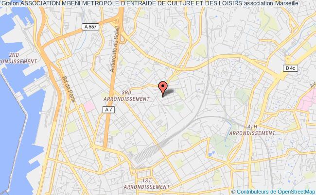 plan association Entente D'entraide Et Culturelle De Mbeni