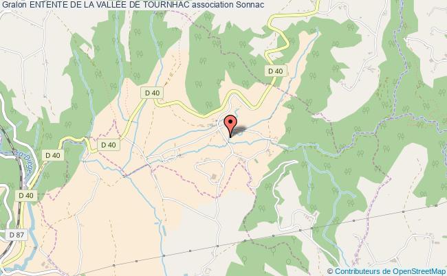 plan association Entente De La VallÉe De Tournhac Sonnac