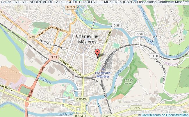 plan association Entente Sportive De La Police De Charleville-mezieres (espcm)
