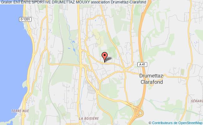 plan association Entente Sportive Drumettaz Mouxy