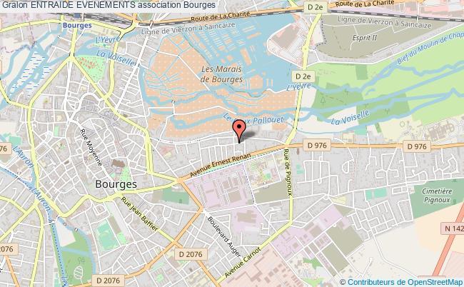 plan association Entraide Evenements Bourges
