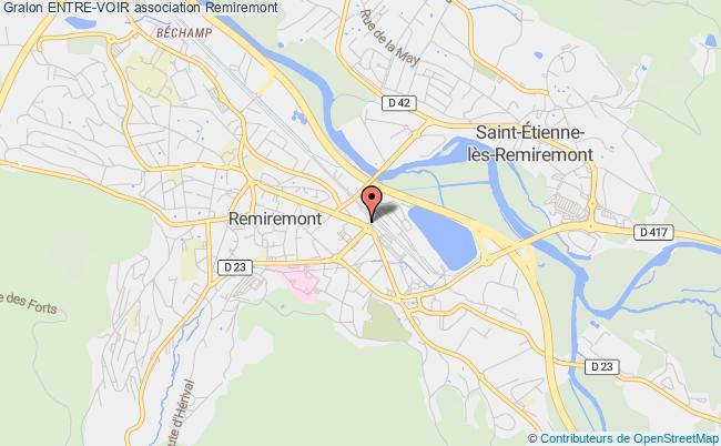 plan association Entre-voir Remiremont