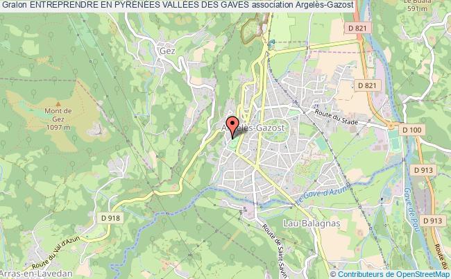 plan association Entreprendre En PyrÉnÉes VallÉes Des Gaves Argelès-Gazost
