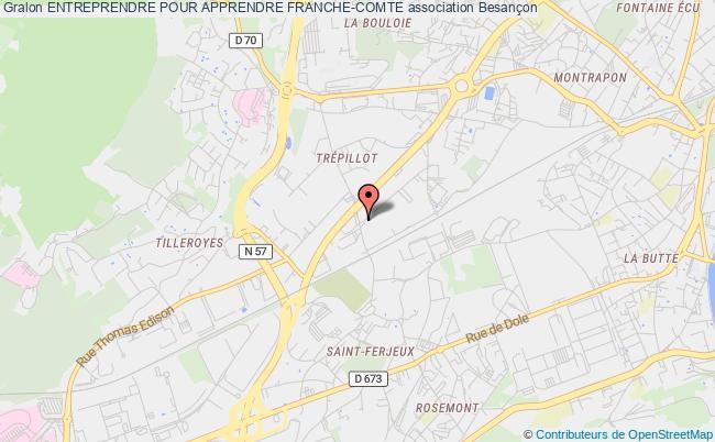 plan association Entreprendre Pour Apprendre Franche-comte