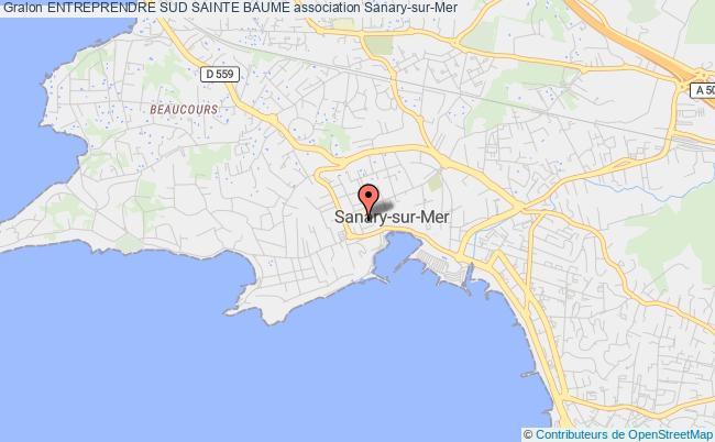 plan association Entreprendre Sud Sainte Baume